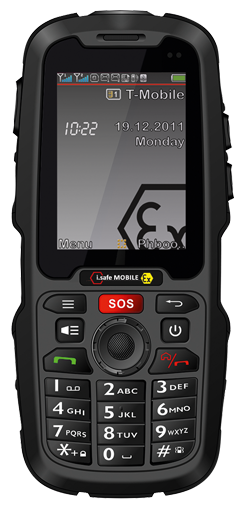 Intrinsically Safe Rugged 3G Waterproof Phone